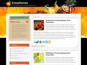 Кулинарный шаблон WordPress Refresh-your-taste