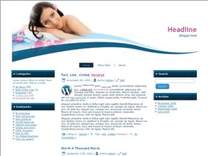 Вордпресс тема красота и здоровье Relex-time-info