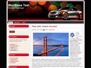 Авто тема Ворд пресс Silver-Speed-3