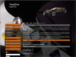 Автомобильная WordPress тема Specialinfo-auto