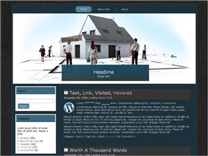 Вордпресс тема о недвижимости Structural-building