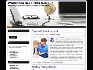 Шаблон WordPress персональный блог WorkTable-2