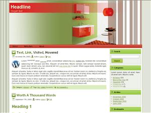 Вордпресс тема интерьер Kitchen-interior-decoration