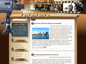Wordpress тема кино Look-at-my-camera