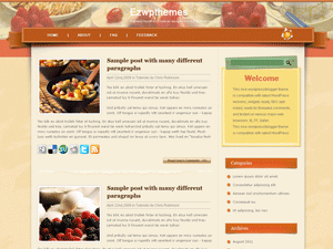 Wordpress тема рецепты Mouth-watering-sprites