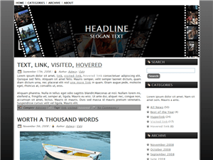 Кинотема WordPress Movi-World