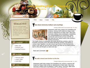 Wordpress шаблон отдых Tasted-coffee