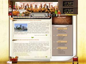 Современная тема Вордпресс Tempting-cuisine