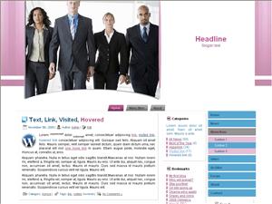 Бизнес тема для Вордпресс Business-accurance