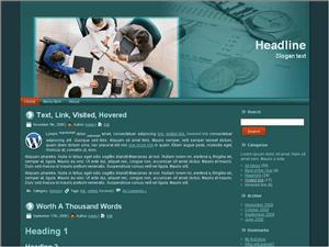 Wordpress тема о бизнесе Business-agreement