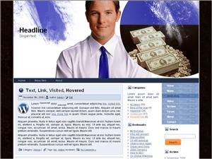 Бизнес тема Вордпресс Business-balance
