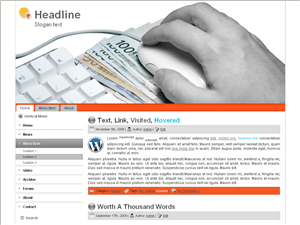 Шаблон для блога о бизнесе Business-blog