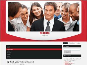 Бизнес шаблон Вордпресс International-businessmen