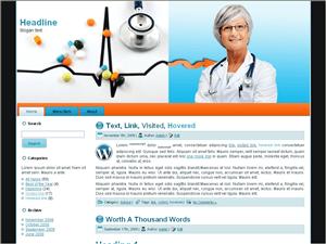 Медицинский шаблон WordPress Health-clinic