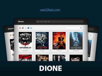 Современный шаблон WordPress Dione