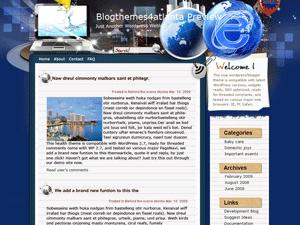 Wordpress шаблон Интернет E-era
