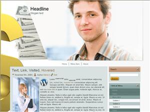 Бизнес тема WordPress Ideas-for-easymoney