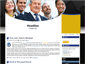 Вордпресс тема о бизнесе International-business