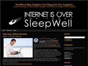 Вордпресс тема интернет Internet-Is-Over