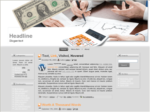 Шаблон WordPress инвестиции Invest-builder-wp