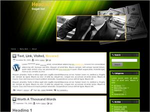 Вордпресс тема инвестиции Investment-company