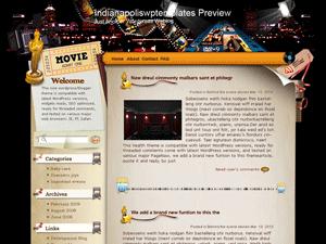Wordpress шаблон кино Performing-arts