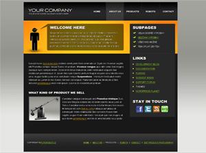 Универсальный шаблон WordPress Solid