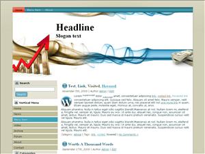 Wordpress шаблон финансы Stock-market-details