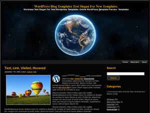 Шаблон WordPress персональный блог Our-World
