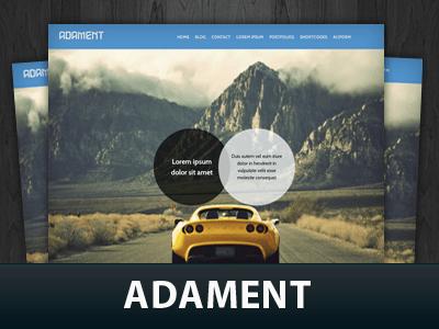 Wordpress авто тема Adament