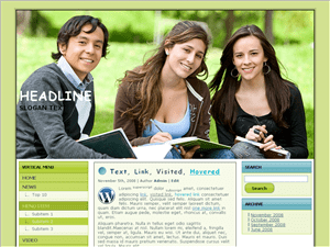 Wordpress шаблон образование Career