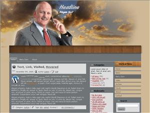 Вордпресс тема бизнес Communication-information