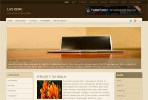 Современный шаблон WordPress Creamzine