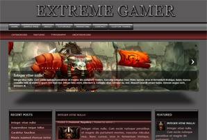 Wordpress шаблон игры Extremegamer