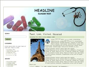Вордпресс тема здоровье Health-sites