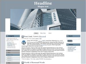 Wordpress тема архитектура Modern-building