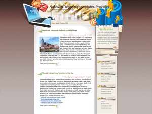 Вордпресс шаблон интернет  Be-creative-online