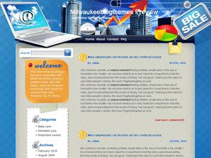 Вордпресс тема интернет Participate-online