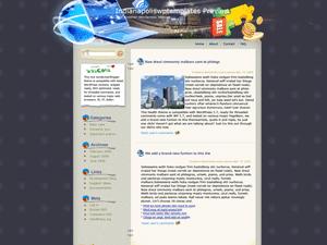 Wordpress тема интернет Online-solutions