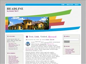 Вордпресс тема интерьер Home-valuations