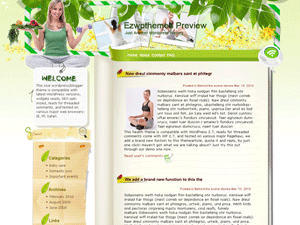 Вордпресс тема здоровье Yoga-Craze