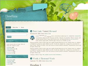 Wordpress тема искусство Artleaf