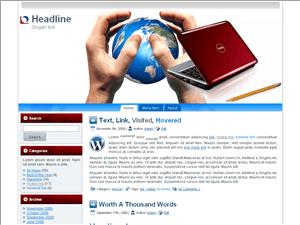 Бизнес шаблон Вордпресс Business-grip