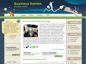 Бизнес тема Вордпресс Bizmaniac