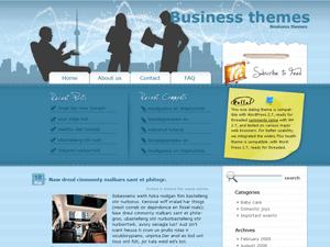 Бизнес шаблон Вордпресс Business-talk
