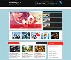 Универсальный Вордпресс шаблон EliteMagazine
