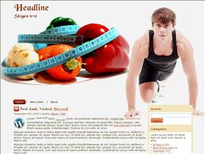Шаблон Вордпресс фитнесс Fitness-execise