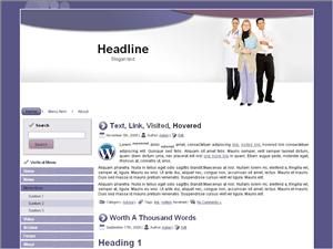 Wordperss тема здоровье Health-professionals