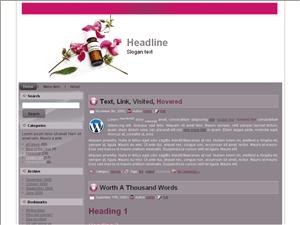 Шаблон для WordPress медицина Homeopathic-products