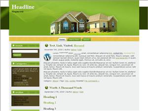 Вордпрес тема недвижимость Home-services